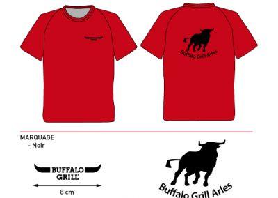 BAT T-shirt Buffalo